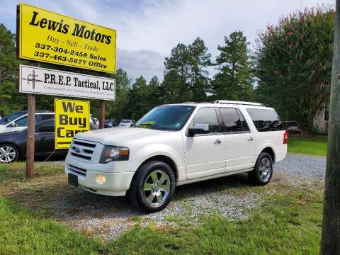 2010 Ford Expedition EL for sale at Lewis Motors LLC in Deridder LA