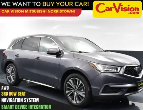 2019 Acura MDX for sale at Car Vision Mitsubishi Norristown in Trooper PA