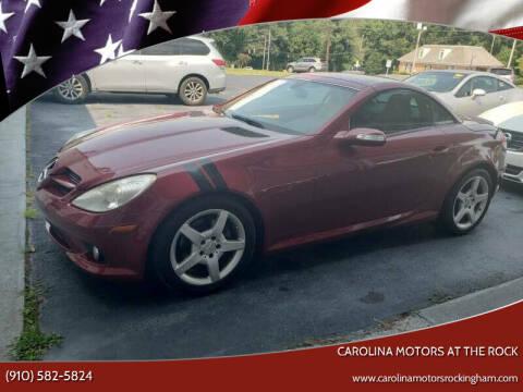 2008 Mercedes-Benz SLK for sale at Carolina Motors in Thomasville NC