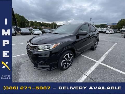 2019 Honda HR-V for sale at Impex Auto Sales in Greensboro NC