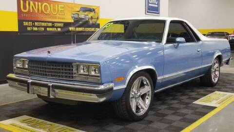 1983 Chevrolet El Camino for sale at UNIQUE SPECIALTY & CLASSICS in Mankato MN