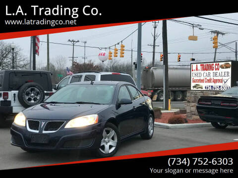 2010 Pontiac G6 for sale at L.A. Trading Co. Woodhaven in Woodhaven MI