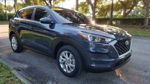 2019 Hyundai Tucson for sale at DELRAY AUTO MALL in Delray Beach FL