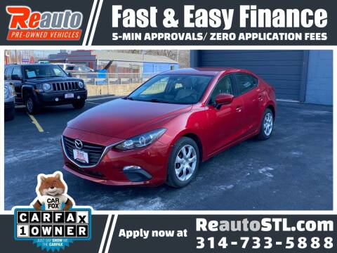 2015 Mazda MAZDA3 for sale at Reauto in Saint Louis MO