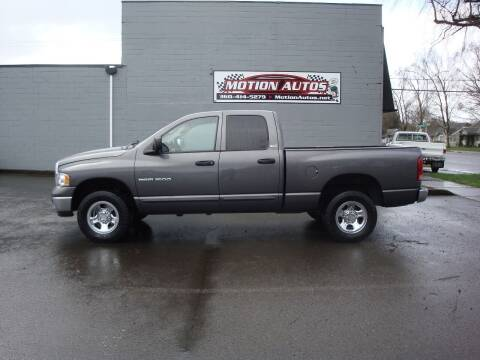 2002 Dodge RAM 150 for sale at Motion Autos in Longview WA