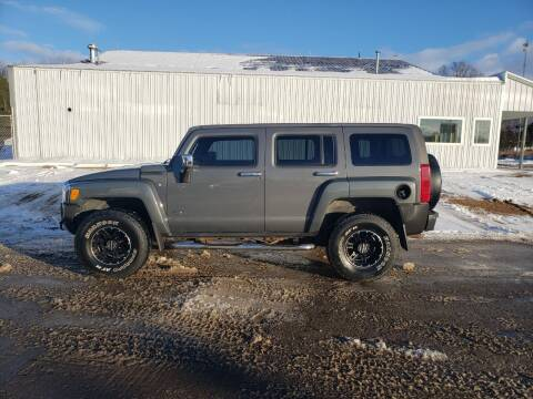 2008 HUMMER H3 for sale at Steve Winnie Auto Sales in Edmore MI
