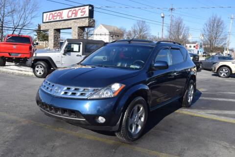 2004 Nissan Murano for sale at I-DEAL CARS in Camp Hill PA