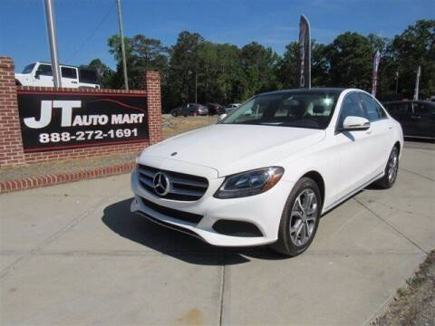 2017 Mercedes-Benz C-Class for sale at J T Auto Group in Sanford NC