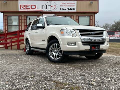 2007 Ford Explorer for sale at REDLINE AUTO SALES LLC in Cedar Creek TX