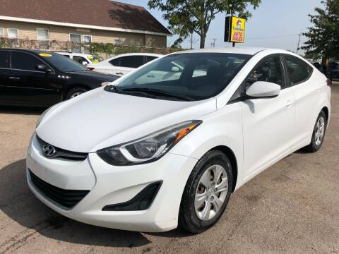 2016 Hyundai Elantra for sale at El Tucanazo Auto Sales in Grand Island NE