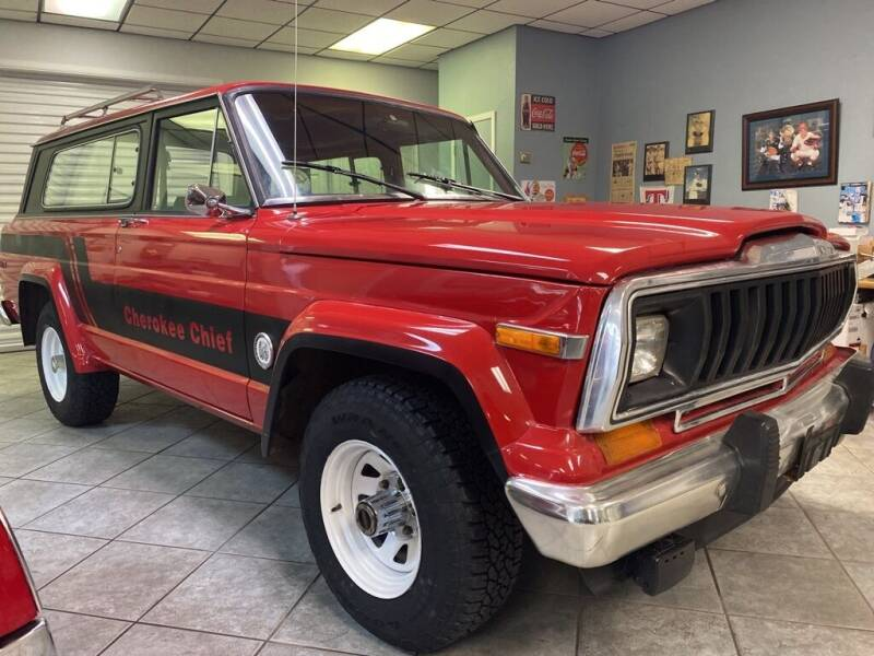 1981 Jeep Cherokee for sale at PITTMAN MOTOR CO in Lindale TX