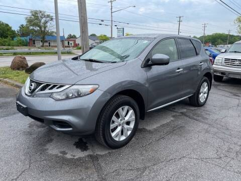 2013 Nissan Murano for sale at Lakeshore Auto Wholesalers in Amherst OH