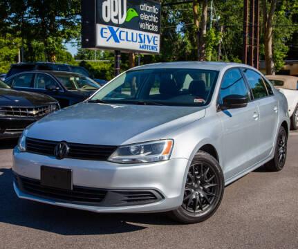 2012 Volkswagen Jetta for sale at EXCLUSIVE MOTORS in Virginia Beach VA