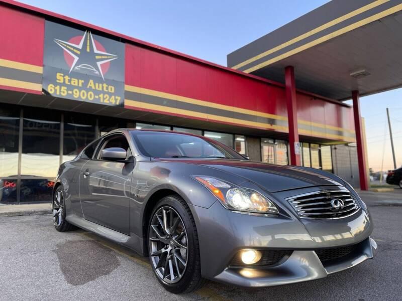 2014 Infiniti Q60 Coupe for sale at Star Auto Inc. in Murfreesboro TN