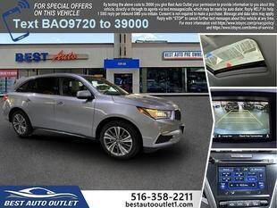 2017 Acura MDX for sale at Best Auto Outlet in Floral Park NY