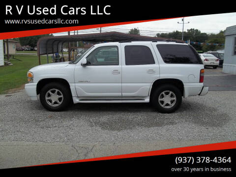2003 GMC Yukon for sale at R V Used Cars LLC in Georgetown OH