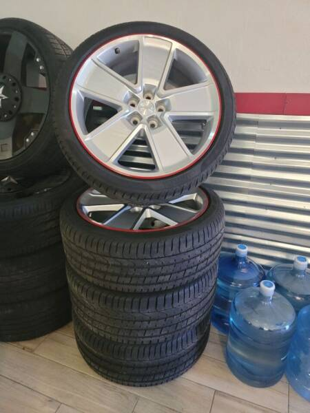 """SLP 21"""" Wheels With Tires for sale at WICKED NICE CAAAZ in Cape Coral FL"""