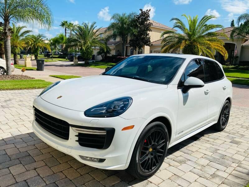 2018 Porsche Cayenne for sale at CHECK  AUTO INC. in Tampa FL