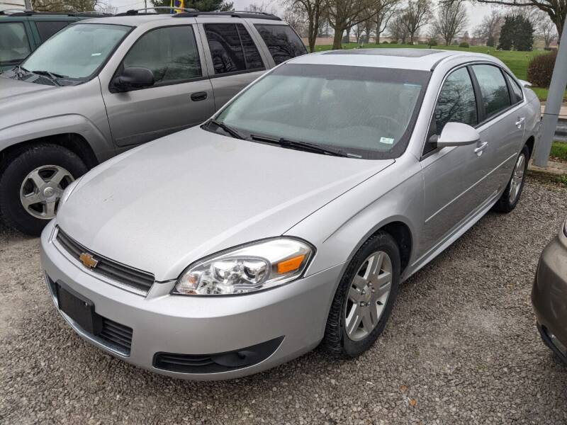 2010 Chevrolet Impala for sale at AUTO PROS SALES AND SERVICE in Belleville IL