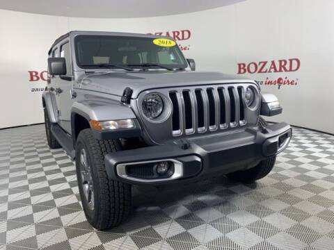 2018 Jeep Wrangler Unlimited for sale at BOZARD FORD in Saint Augustine FL