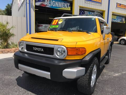 2007 Toyota FJ Cruiser for sale at RoMicco Cars and Trucks in Tampa FL