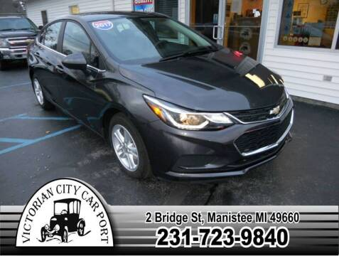2017 Chevrolet Cruze for sale at Victorian City Car Port INC in Manistee MI