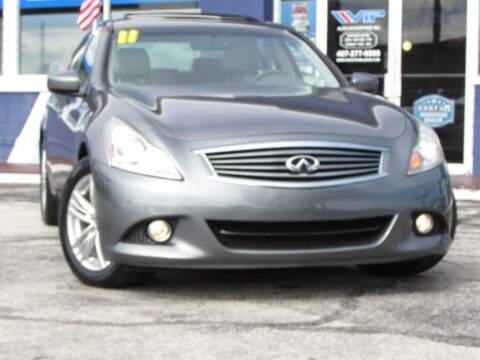 2011 Infiniti G37 Sedan for sale at VIP AUTO ENTERPRISE INC. in Orlando FL