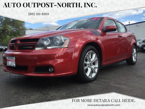 2012 Dodge Avenger for sale at Auto Outpost-North, Inc. in McHenry IL