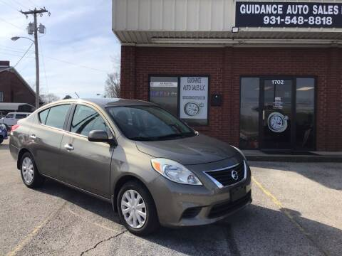 2012 Nissan Versa for sale at Guidance Auto Sales LLC in Columbia TN