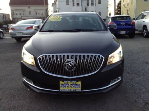 2014 Buick LaCrosse for sale at Worldwide Auto Sales in Fall River MA