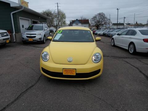 2012 Volkswagen Beetle for sale at Brothers Used Cars Inc in Sioux City IA