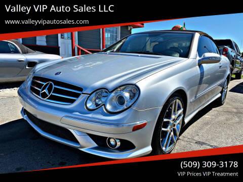 2009 Mercedes-Benz CLK for sale at Valley VIP Auto Sales LLC in Spokane Valley WA