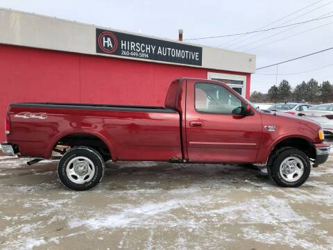 2000 Ford F-150 for sale at Hirschy Automotive in Fort Wayne IN