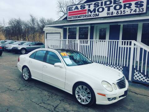 2007 Mercedes-Benz E-Class for sale at EASTSIDE MOTORS in Tulsa OK