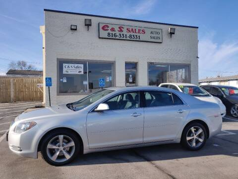 2012 Chevrolet Malibu for sale at C & S SALES in Belton MO