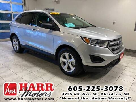 2017 Ford Edge for sale at Harr's Redfield Ford in Redfield SD