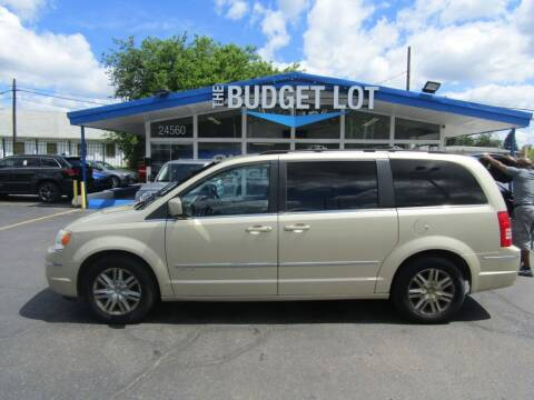 2010 Chrysler Town and Country for sale at THE BUDGET LOT in Detroit MI