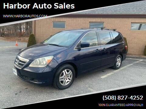 2006 Honda Odyssey for sale at Harbor Auto Sales in Hyannis MA