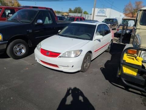 2004 Honda Civic for sale at Cars 4 Idaho in Twin Falls ID