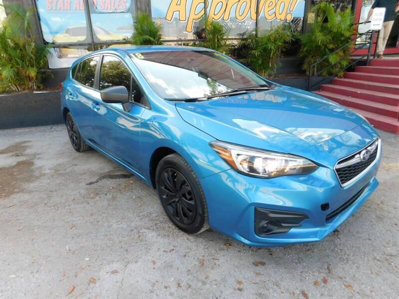 2018 Subaru Impreza for sale in Tampa, FL