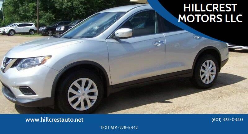 2015 Nissan Rogue for sale at HILLCREST MOTORS LLC in Byram MS