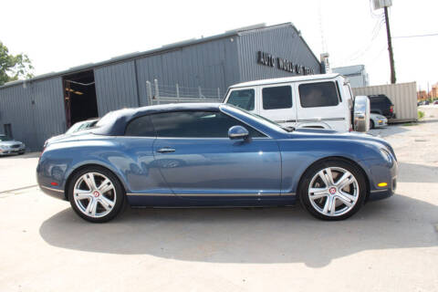 2010 Bentley Continental for sale at AUTO WORLD OF TEXAS in Katy TX
