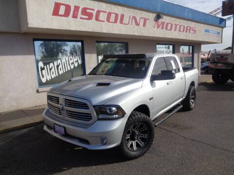 2014 RAM Ram Pickup 1500 for sale at Discount Motors in Pueblo CO