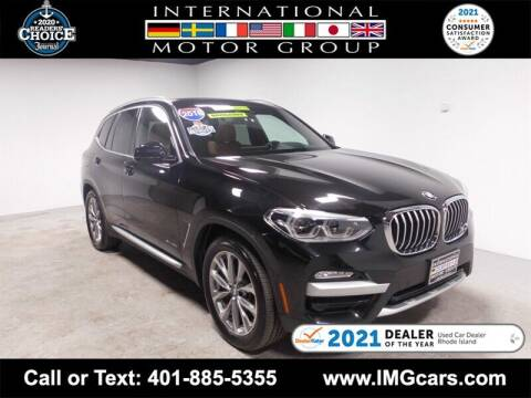 2018 BMW X3 for sale at International Motor Group in Warwick RI