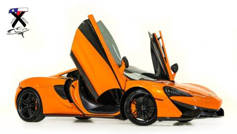 2016 McLaren 570S for sale at TX Auto Group in Houston TX