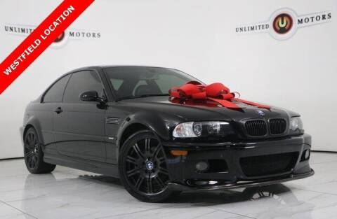 2004 BMW M3 for sale at INDY'S UNLIMITED MOTORS - UNLIMITED MOTORS in Westfield IN