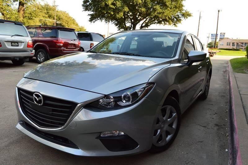 2015 Mazda MAZDA3 for sale at E-Auto Groups in Dallas TX