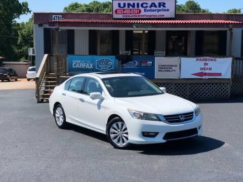 2015 Honda Accord for sale at Unicar Enterprise in Lexington SC