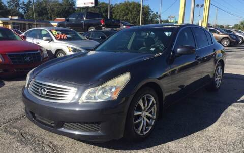 2008 Infiniti G35 for sale at Castle Used Cars in Jacksonville FL