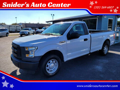 2016 Ford F-150 for sale at Snider's Auto Center in Titusville FL